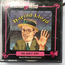 Nr.6996 --Super 8 -- Harold Lloyd The Early Bird ongeveer 60 meter silent in orginele doos