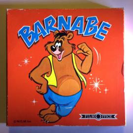 Nr.6809 --Super 8 SOUND-- Barney Beer en het eekhorntje, 60 meter mooi van kleur Engels geluid in orginele doos