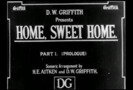 Nr. H6036  - Super 8 - Home, Sweet Home (1914)Griffith de COMPLETE film speelduur 55min | Drama | 17 May 1914 (USA) zwartwit orgineel silent 2 reels a 120 meter