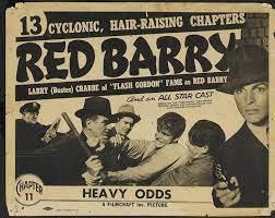 Nr.16263 -- 16mm -- Red Barry uit 1938 zwartwit Engels gesproken Chapter Five Desperate Chances speelduur 20 minuten voor de echte verzamelaar van Old Time movies, zeldzaam