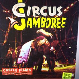 Nr.6768 -- Super 8 Silent - Circus Jamboree, castle film ca 50 meter zwartwit silent in orginele doos