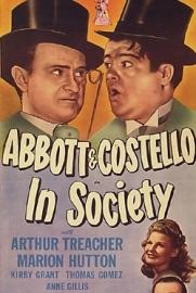 Nr.6591 - Super 8 sound Abbott & Costello in Society 1944 , 120 meter speelduur 20 min. zwartwit/engels sound in orginele doos