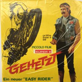 Nr.6907 --Super 8 -- Easy Rider, 120 zwartwit silent