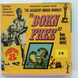 Nr.6718 -- Super 8-- Born Free Columbia Pictures 60 meter zwartwit silent in orginele doos