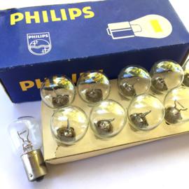 Nr. R237  Philips lamp 10,2v 25W Ba 15s