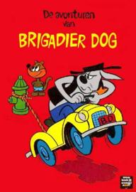 Nr.16391 --16mm-- Deputy Dawg, Brigadier Dog,The Great Grain Robbery, leuke mooie zwartwit tekenfilm Engels gesproken speelduur 6 minuten compleet met begin/end titels