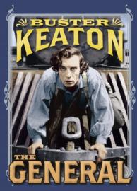 Nr. H6007 - Super 8  Silent- Buster Keaton The General (1926) De COMPLETE film speelduur 79 minuten zwartwit orgineel silent 4 reels a 120m.
