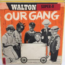 Nr.6732 --Super 8 silent--Our Gang De brandweermannen, zwartwit  op 60 meter spoel in orginele fabrieks doos