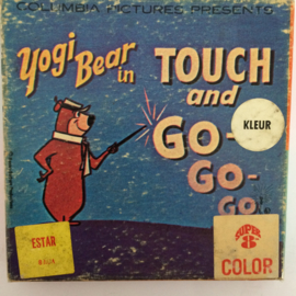 Nr.6723 - Super 8 -- Yogi Bear in Touch and Go Go, kleur Silent in orginele fabrieks doos