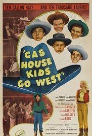 Nr.16416 - 16mm -- Gas House Kids Go West (1947) Zwartwit Engels gesproken met Nederlandse ondertitels compleet met begin en end titels speelduur 62 minuten