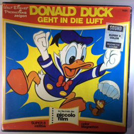 Nr.6652  - Super 8 SOUND -- ,,Donald Duck Geht in die luft Walt Disney ,, c.a. 45 meter kleur, Duits gesproken, in orginele doos