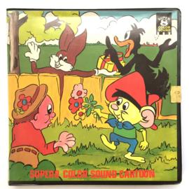 Nr.7123 --Super 8 sound - The Stad Fast Tin Soldier, muziek tekenfilm,mooi van Kleur Engels geluid ca 60 meter  op spoel en in doos