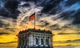 H036 --16mm-- Mooie documentaire over Duitsland, goed van kleur en Engels gesproken, speelduur ca 17 min. compleet op spoel en in doos