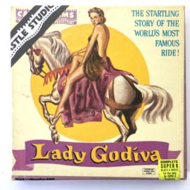 Nr.7064 --Super 8 Silent - Castle film Lady Godiva, goede kwaliteit zwartwit Silent ca 60 meter  in orginele doos