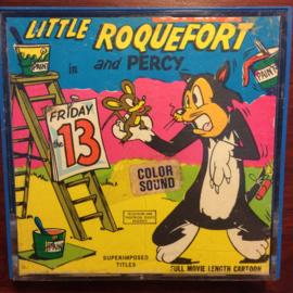 D450 -- Super 8 SOUND -- Little Roquefort and Percy in Friday the 13th kleur Engels gesproken 45 meter in orginele doos