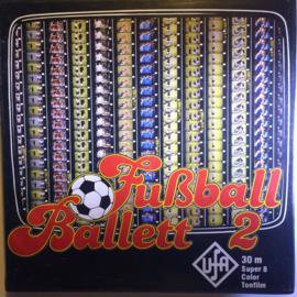 Nr.6665 --Super 8 SOUND  Fubball Ballett 2 - 30 meter kleur/geluid in orginele doos