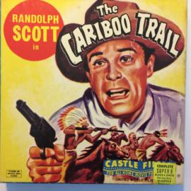 Nr.6778 --Super 8-- Randolfh Scott The Cariboo Trail,  zwartwit 60 meter Silent in orginele fabrieks doos