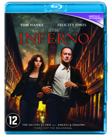 Inferno Tom Hanks Blu-ray