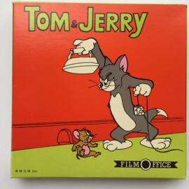 Nr.7174 --Super 8 sound--Tom en Jerry Tenniskampioen, ongeveer 60 meterkleur met Engels geluid op spoel en in orginele doos