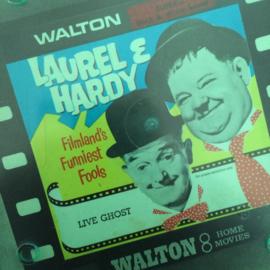 Nr.6533 --Super 8 sound, Laurel en Hardy Live Ghost, 120 meter zwartwit met Engels geluid in orginele Walton doos