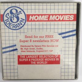 Nr.6710 -- Super 8 SOUND --West of Darlington een Derann film, zwartwit met Engels geluid  op 60 meter spoel in orginele fabrieks doos
