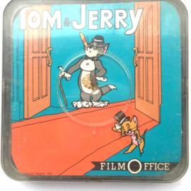 Nr.6879 --Super 8 Sound--,Tom en Jerry de piano concerto, 60 meter mooi zwartwit met Engels geluid, muziektekenfilm in de orginele doos