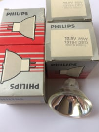 Nr. R108 -- Philips Halogeen projectielamp 13,8 volt 85W -- 13194 DED