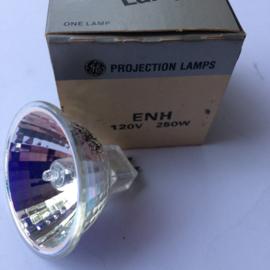 Nr. R180 General Elecrtic halogeen projectielamp ENH 120 volt 250w.