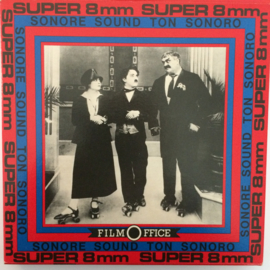 Nr.6553 --Super 8 SOUND, Charlie Avonturier, 120 meter zwartwit met geluid in orginele Film Office doos