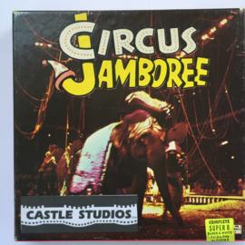 Nr.7038 --Super 8 Silent - Castle film  Circus Jamboree, goede kwaliteit zwartwit Silent ca 60 meter  in orginele doos