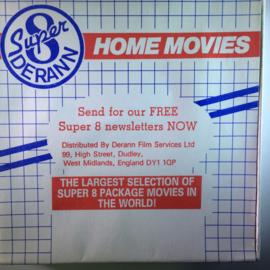 Nr.6733 - Super 8 SOUND- Steamlocs in America , Derann film kleur Engels gesproken ca 50 meter in orginele doos