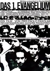 Nr. H6030 Super 8 -- SOUND --  Das 1. Evangelium - Matthäus (1964) Originaltitel: Il vangelo secondo Matteo De COMPLETE film 131 minuten zwartwit Duits gesproken bestaat uit 7 reels a 120 meter