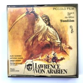 Nr.7013 --Super 8 sound --Lawrence of Arabien ca 120 meter zwartwit met Duits geluid,  goede copy in orginele doos