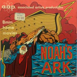 Nr.1564 --Dubbel 8 Silent--Noah's Ark,  60 meter zwartwit silent, zit in de orginele fabrieks doos
