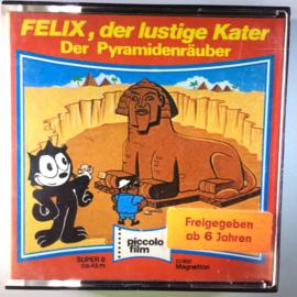 Nr.6773 - Super 8 SOUND, Felix The Cat Der Pyramidenrauber kleur met geluid ca 50 meter in orginele doos