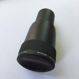 Nr. LE-112 --Projectielens 16mm prachtige zoomlens Isco-optic vario - kiptaron MC 16mm 1,3/35 - 65mm, diameter 42,5mm voor o.a.Bauer, Eiki, hokusin projectoren