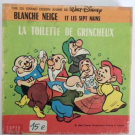 Nr.6677 -- Super 8  -- Sneeuwitje en de zeven dwergen, Walt Disney 45 meter  kleur Silent in orginele doos