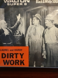 Nr.6500 - Super 8 sound Laurel & Hardy Dirty Work 1933, 120 meter zwartwit,Engels gesproken in orginele doos