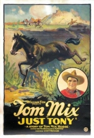 Nr. H6041 --Super 8 Just Tony Western 1922 met Tom Mix  speelduur 70 minuten de COMPLETE film zwartwit orgineel silent Blackhawk films USA in orginele doos