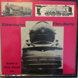 Nr.6817 --Super 8-- Eisenbahn film serie Lokomotiven der USA 1 Western uNorfolk Lokszwartwit silent 60 meter in orginele fabrieks doos