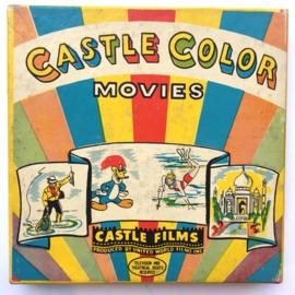 Nr.1605 --Dubbel 8 Silent-- Castle films, The Roaming Romeo 60 meter zwartwit in orginele doos