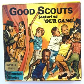 Nr.7068 --Super 8 Silent - Good Scouts Our Gang, goede kwaliteit zwartwit Silent ca 60 meter  in orginele doos