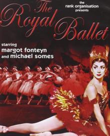 Nr.2156 --16mm-- An Evening with the Royal Ballet starring Margot Fonteyn 1960 Filmed on the stage of London's Covent Garden. mooi van kleur * zie omschrijving, speelduur ongeveer 1 uur en 30 minuten op 2 spoelen en in doos