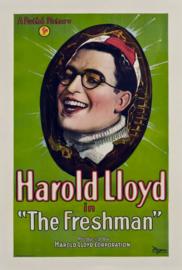 Nr. H6028 - Super 8 SOUND - The Freshman (1925) Harold Lloyd de COMPLETE film 76 minuten | Comedy, Family, Sport | 20 September 1925 (USA) zwartwit met geluid bestaat uit 4 reels a 120 meter