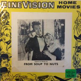 Nr.6519 -- Super 8 Silent -- Laurel en Hardy From Soup To Nuts, zwartwit Silent op 120 meter spoel en in orginele fabrieks doos