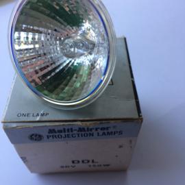 Nr. R134 General electric halogeen projectielamp met spiegel DDL 20 volt 150 W