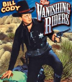 Nr.16419 -- 16mm -- The Vanishing Riders (1935)orgineel  zwartwit Engels gesproken met Ned.ondertitels, compleet met begin en end titelsspeelduur 58 minuten