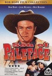 Nr.16308 - -16mm  Bob Hope 1952 ,,Son of Paleface,, zwartwit met Ned.ondertitels, Engels gesproken speelduur 95 minuten,zie omschrijving