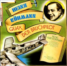 Nr.6638 Super 8 sound-- Heinz Ruman Quax der Bruchpilot 120 meter speelduur 20 minuten zwartwit met orgineel Duits geluid in orginele doos