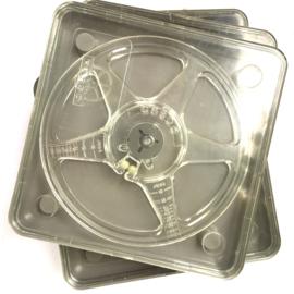 DUBBEL 8  Posso spoelen 60 meter spoel in vierkante doos,doorsnee 12,5 cm prijs per stuk